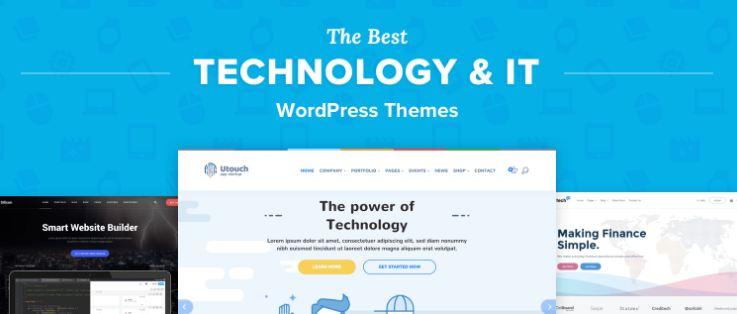 Top 10 theme wordpress cho startup công nghệ chuyên nghiệp 2019