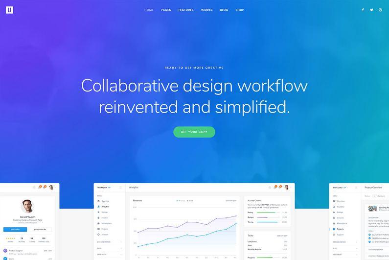 Uncode - theme wordpress cho startup công nghệ - IT