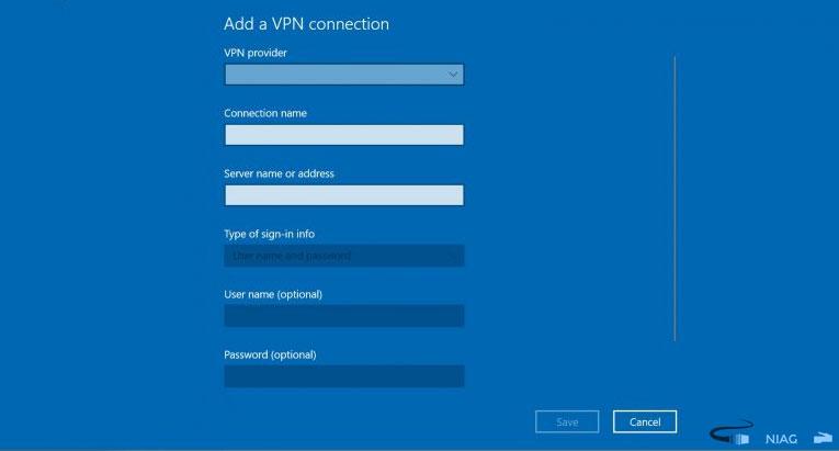 tiến hành Connect VPN