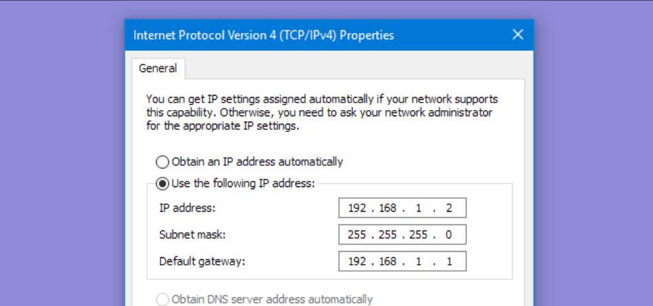 Cách thay đổi địa chỉ IP trên máy tính
